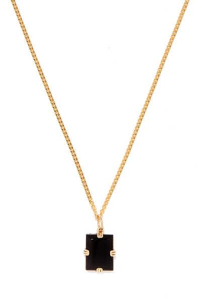 Lennox Onyx Pendant Necklace