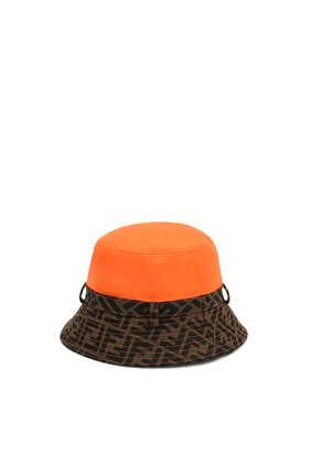 Logo Print Bucket Hat