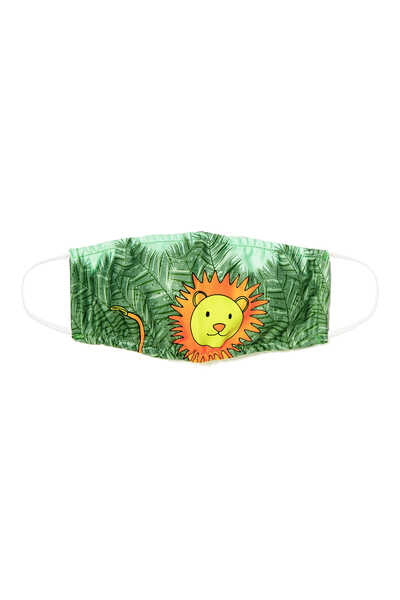 Boys Lion Face Mask