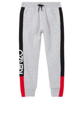 Logo Jersey Fleece Sweatpants