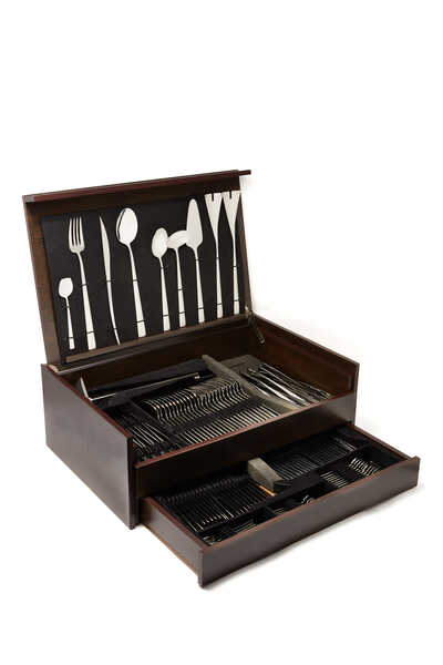 Duna 130 Piece Cutlery Set