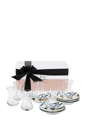 6 Fairuz Teacups Gift Box