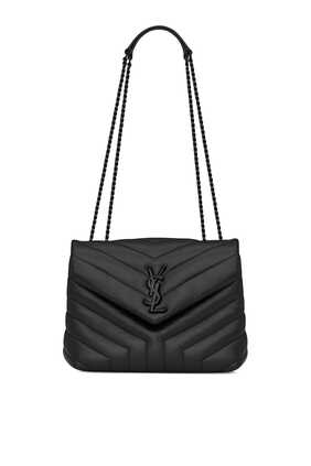 Loulou Small in Y-Quilted Leather