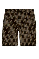 FF Logo Print Shorts