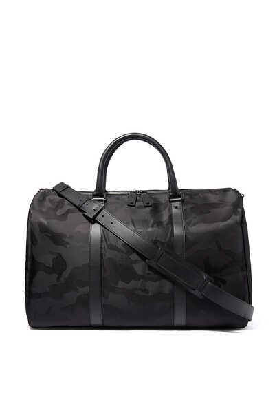 Valentino Garavani Jacquard Camouflage Small Duffle Bag