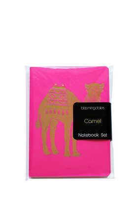 Arabic Camel Notebook, Set of Three