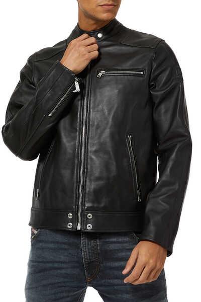L-Boy Leather Biker Jacket
