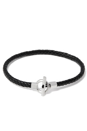 Atlas Rope Leather Bracelet
