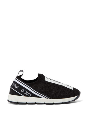 Slip-On Logo Sneakers
