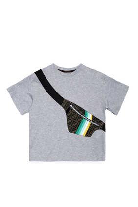 Bum Bag Print T-Shirt
