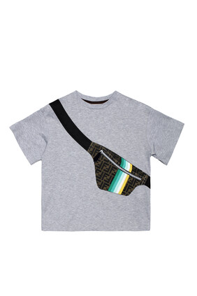 Bum Bag Print T-Shirt