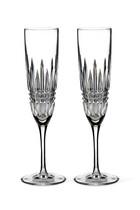 Lismore Diamond Champagne Flutes Set Of Two