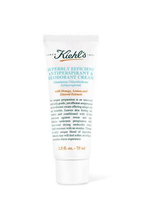 Superbly Efficient Anti-Perspirant And Deodorant Cream
