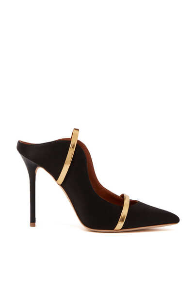 Maureen Satin Mules