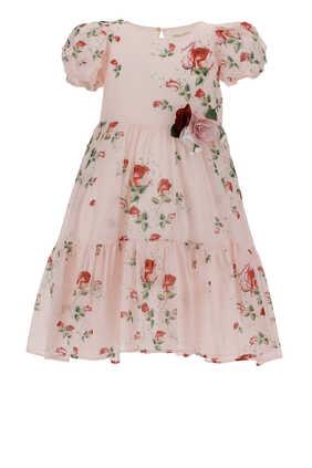 Rose Floral Dress