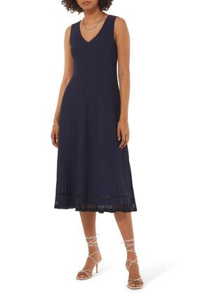V-Neck Lustra Dress