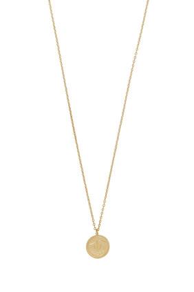 Snake Coin Necklace