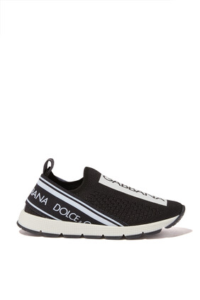 Sorrento Logo Slip-On Sneakers