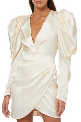 Irwin Balloon-Sleeve Dress