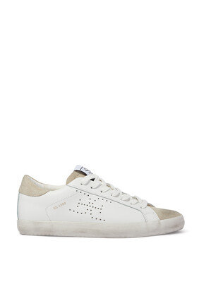 Aubrie Leather Sneakers