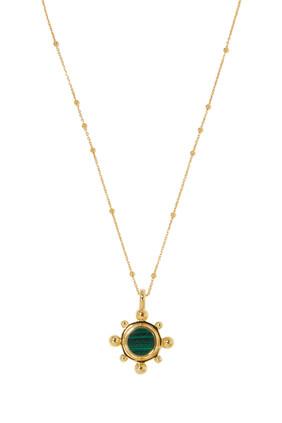 Round Pendant Necklace