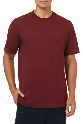 Logo Pocket Cotton T-Shirt