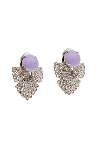 Arya Silver Earrings