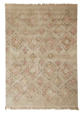 Diamond Pattern Rug