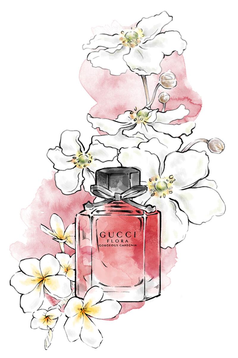 Flora Gorgeous Gardenia Eau de Toilette image number 3