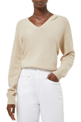 Cashmere Relaxed Hoodie