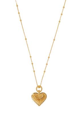 Ridge Heart Necklace
