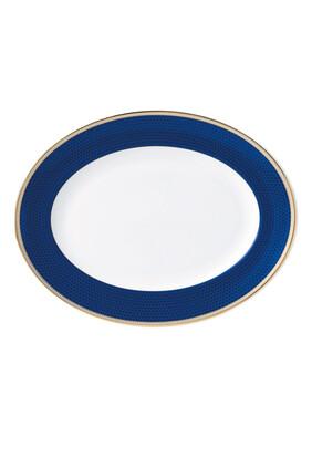 Hibiscus 35 Oval Platter