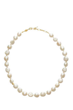 Stellar Pearl Necklace