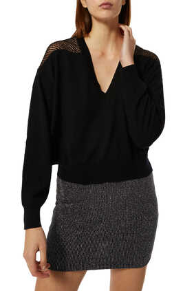 Nabas Sheer Sweater