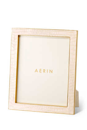 Classic Croc Leather 8x10 Photo Frame