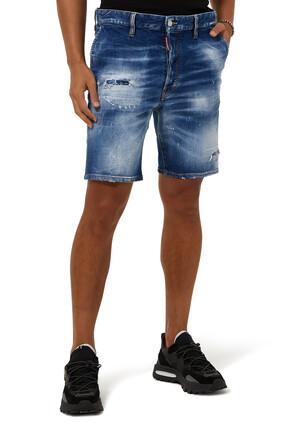 Denim Marine Bermuda Shorts