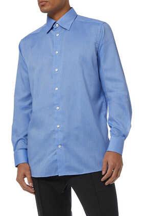 Slim Fit Crease-Resistant Shirt