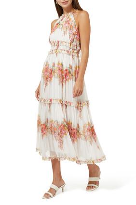 Mae Tiered Frill Midi Dress
