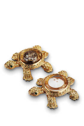 Turtle Spice Jewels Salt and Pepper Shakers