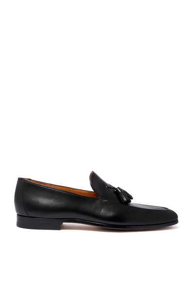 Tassel Loafers in Flex Leather
