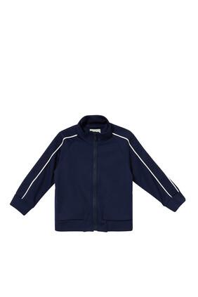Stripe Zipper Jacket