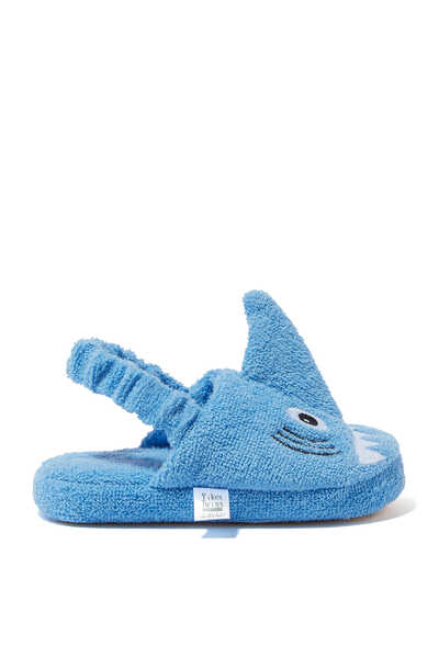 Shark Ages Cotton Slippers