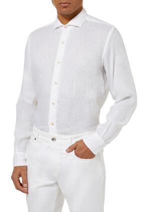 Long Sleeves Linen Shirt