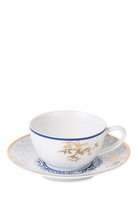 Kunooz Porcelain Teacup and Saucer Set