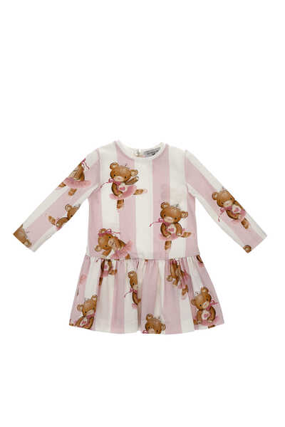 Teddy Bear Striped Dress
