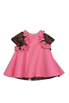 Monogram Sleeve Dress