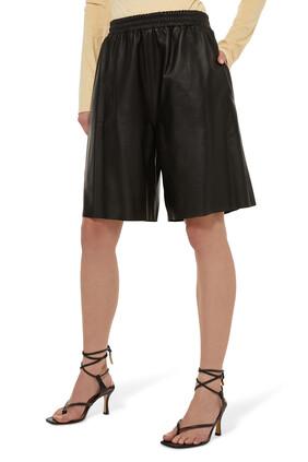 Mandrake Leather Shorts