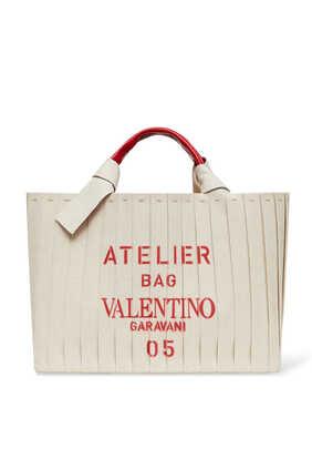 Valentino Garavani Atelier Bag Canvas Tote