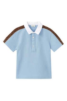 FF Logo Band Polo Shirt