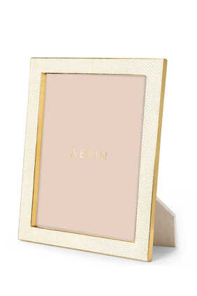 Classic Shagreen 8x10 Photo Frame